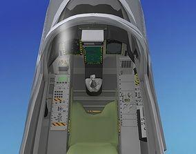 3D model SAAB JAS 39 Gripen V08