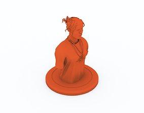 ASAP Rocky Bust Updated 3D print model