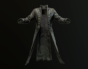 3D model Old coat