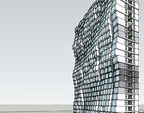 3D model architectural High-rise residence 5