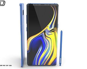 Samsung Galaxy Note 9 3D model