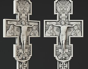 Crucifix 3D print model pendants