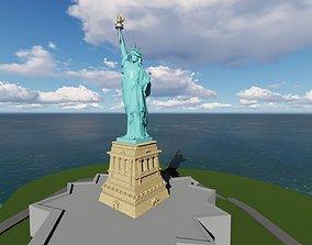 3D AMERICA STATUE OF LIBERTY