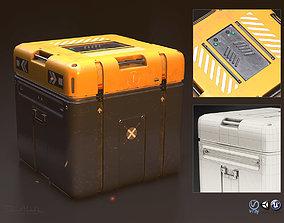 3D asset Sci-Fi Equipement Box