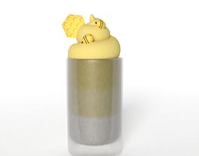 Honey Milkshake 3D