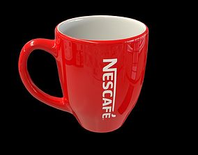 Coffee mug 3D asset VR / AR ready