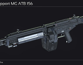 Scifi Support MG ATB 156 3D asset