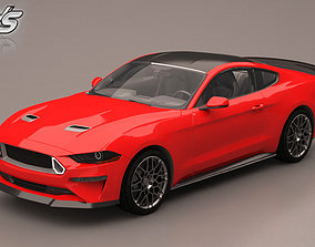 sport Ford mustang 3D