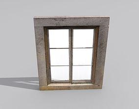 Window 1 stone 3D model