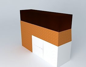 Universal Kitchen 3D model