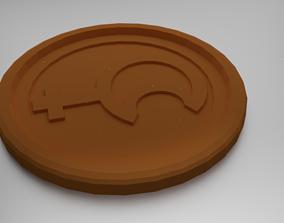 Lilith Coaster 3D printable model