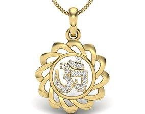 Diamond Pendant 3D printable model jewel