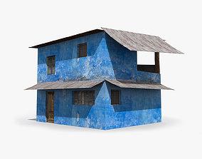 3D asset Slum w