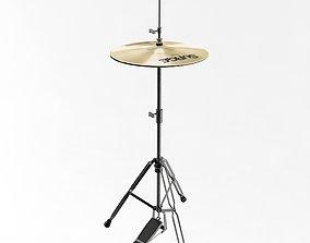 3D model Hi Hat Cymbal