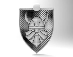 3D printable model Viking pendant 7