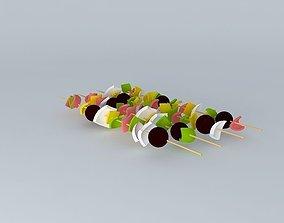 3D model Kebabs