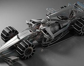 Formula 1 Car Concept 3D model