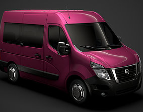 Nissan NV 400 L1H2 WindowVan 2020 3D model
