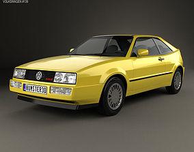 Volkswagen Corrado G60 1988 3D model