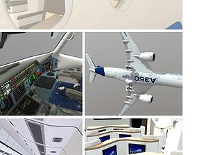 Airbus A350 3D model