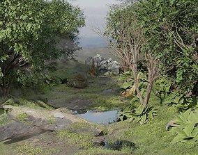Realistic Forest Model For Blender