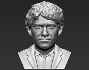 Bilbo Baggins Hobbit bust 3D printing ready stl obj 1