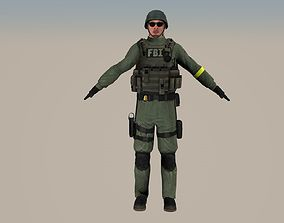 FBI option B 3D model
