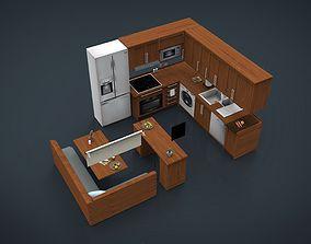 fruits 3D Kitchen Set