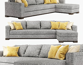 3D model Sofa Perry Sectional Lounge