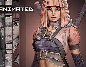 3D asset Yuko - Stylized Character