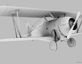 military GRUMMAN F2F-1 3D model