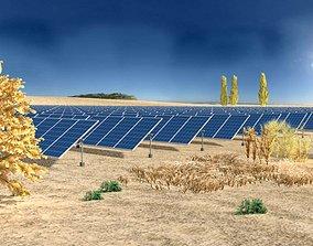 Photovoltaic power generation 3D