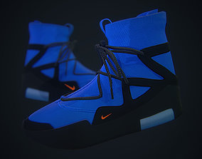 Nike Air Fear of God - Blue Custom 3D asset