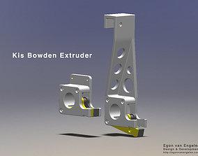 3D printable model Kis Bowden Extruder