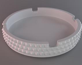 Ashtray Diamond Surface 3D print model