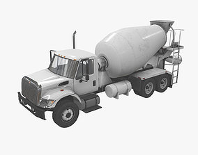 Mixer Truck International 7400 3D model