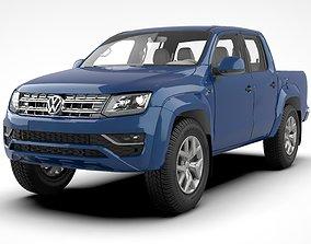 3D asset Volkswagen Amarok V6 TDI 2018