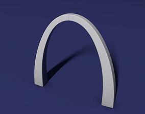 3D printable model St Louis arch