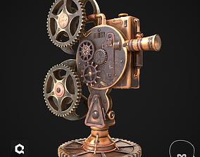 3D model Steampunk Projector