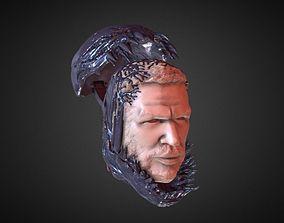 3D print model TOM HARDY VENOM INSPIRITED FIGURE HEAD v2