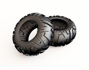 Tire 03 3D model