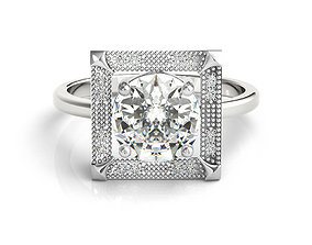 3dm jewelry ladies engagement ring