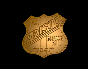 3D printable model Aristo Motor oil sing