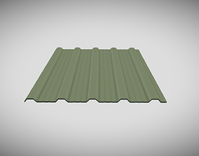 Building Cladding 3D model