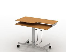 Modern Wood Desk 3D
