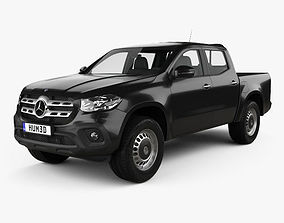 Mercedes-Benz X-Class Pure 2017 3D model