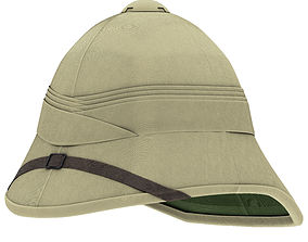 3D model Cork Pith Helmet