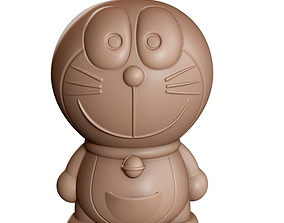 Doraemon toy for storing coin 3d print model