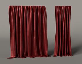 Curtain 3D Asset VR / AR ready