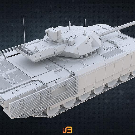 Russian Army main battle tank T-14